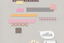 Petal Picks / Coordinating Products to build your own Scrapflower Collaboration! / by {scrap flower}