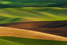 ♒ Fields, Terraces & Rolling Hills / Different type of fields from different parts of the world. / by jrachelle