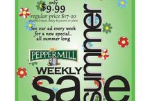 The Peppermill Weekly Sales / At The Peppermill Inc. we offer advice, free recipes and helpful cooking tips to go along with your new cookware, bakeware and utensils. The Peppermil's retail shop is based in Brooklyn, New York.  / by The Peppermill