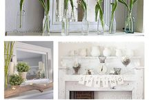 Spring decor  / by Heather Ricarte