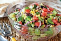 Salads & salsas / by Linda Murphy Luna