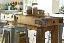 kitchen / vintage, industrial and beautiful kitchen ideas / by Sarah / Re-Nais Vintage