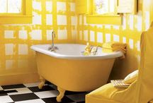 Yellow Interiors Trend / by Sian Elin