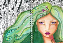 ART... stentangling / by CherieLenore