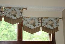 window treatments / by Bette Brown