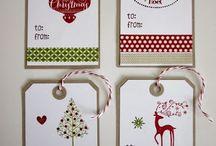 Christmas Tags / by Sue Dickson