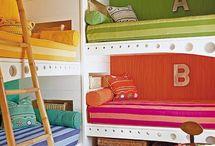 Home. Bedroom, Cabin. Kids / by J M D