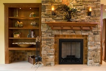 Fireplaces / by Sherrie Corrington