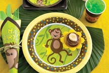 Jungle Party Ideas / by Birthday in a Box