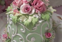 Cakes - floral / by Kimberly Zaporowsky-Cole