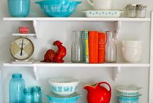 Vintage Dishes / by Shelly Szmurlo