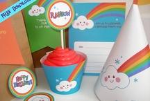 Over the Rainbow! (Savannah's 6th bday party) Ideas / by Belinda Eguia-Garcia