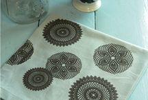 Fabric screen prints / by Karlene Johnston