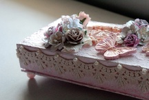 ALTERED BOXES SHABBY CHIC / by Anita Nay