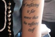 Tattooed  / by Erin Zurcher