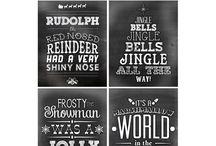 Chalkboard Word Art / by Melissa Hendricks