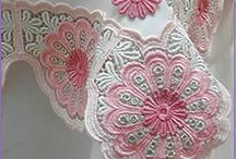 lace embroidery / by Sherrie Petersen