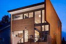 Structure / homes / by Liz Martin / LizMartinCreative