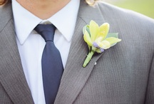 For the Boys / Who said that boutonnieres had to be tired and dated? No any more!! With some great style, these flowers finish off any look. / by Bloom Petals and Gift Floral