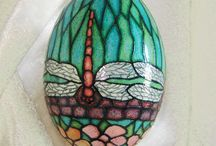 Easter Egg / Uova pasquali della tradizione polaccha dette pisanki / by Beatrice Szurek