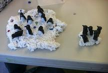 school/cold weather critters / penguins, polar bears, hibernation, arctic/antarctic talk / by Mindy Kowieski Kerr
