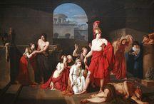 Theseus  & the Minotaur / by L. Michaud