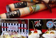 Pirate/Mermaid Party / Combined mermaid and pirate party for C and V.  / by Valerie Young