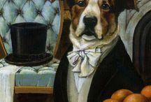 Dogs in Art / by Susanna Delon
