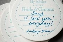 Fun Wedding Ideas / by Preslie Vavold