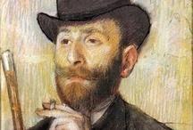 Portrait / Great painters  / by Macan Rosabal