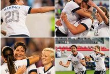 US Women's Soccer / by Chunky Monkey