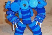 bottle cap craft / by Carmella Gaudet
