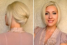 Short Updos Ideas / Ideas for your wedding hairstyle when you have short hair / by Jennie Kay Beauty