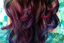 Hair styles and hair color / by Ashley Duh!