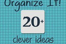 Organize ideas / by Joann Greig