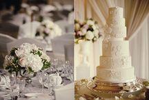 White wedding detail / White wedding ideas including bespoke wedding stationery / by Nathan {Artemis Stationery}