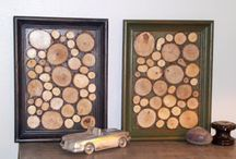 Wood Projects DIY / Using natures tiny works,or art to create interesting and unique woodland-inspired projects!  https://www.etsy.com/shop/PineBranchDesigns?section_id=7636256&ref=shopsection_leftnav_7 / by PineBranchDesigns.Etsy.Com