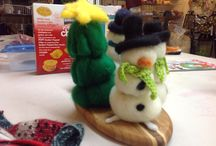 Felted Goodies / Hand made goodies / by Suzoos Wool Works, LLC