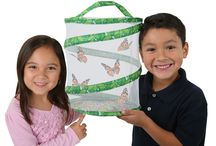 Back to School with Insect Lore / Insect Lore provides innovative products that make science more approachable and relatable to young learners. Our signature Live Butterfly Kits have brought science to life in countless classrooms over the years.  We invite you to explore these educational live kits as well as other exciting products that encourage early discovery and hands-on learning. / by Insect Lore