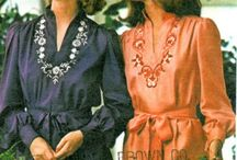 Vintage Sewing Patterns  / Fashion designs from the past - classic is never out of style / by Gone Funky