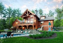 Custom Woodhouse - Woodstock, NY / by Woodhouse Timber Frame
