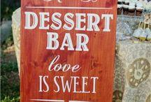 Dessert bars & buffets / by Jayna M.