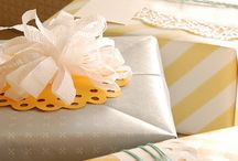 Gift Wrapping & Greeting Card ideas / by Erin McGehee