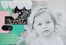 scrapbooking inspiration / by Shelley Haganman (a flair for buttons)