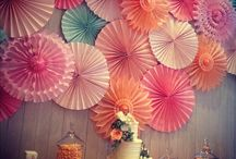 Party Time / Decorating for parties! / by Rachelle Wan