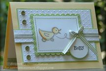 Baby Card Ideas / by Pamela Selinski