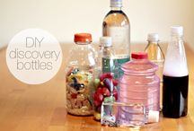 Discovery Bottle Ideas / Discovery Bottle Fun & Ideas / by Bernadette (Mom to 2 Posh Lil Divas)
