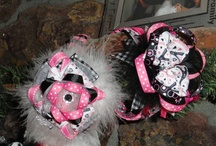 Brittani's Bows, all handmade  / Brittani's Bows, one of a kind bow for your one of a kind girl! / by Brittani Chin