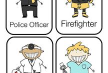 Community Helpers Crafts / by Jessica Ruano