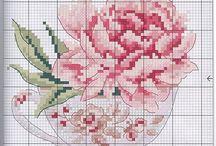 Cross Stitch - Flowers / by Jean Cotton